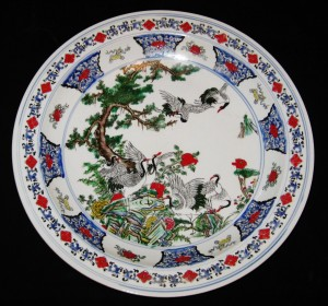 ANTIQUE BIG CHINESE PORCELAIN...